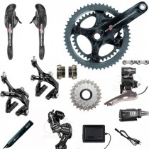 Groupe complet CAMPAGNOLO Record EPS 11v 2015 (52*36)